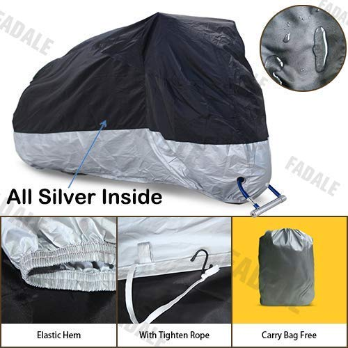 2019 New Motorcycle Cover Fit up to 108