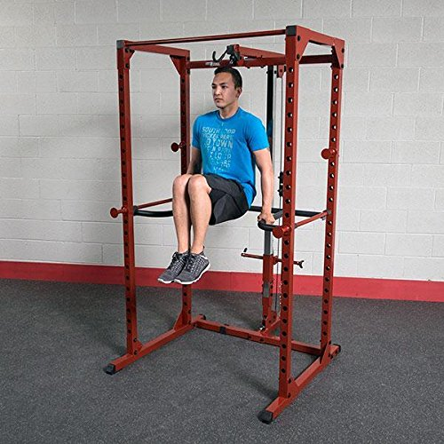 Body-Solid DR100 Power Rack Dip Attachment for Powerline and Best Fitnesss by Body-Solid (Image #2)