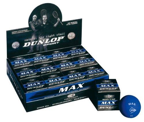 DUNLOP Max Squash - Pelota de squash DA50024