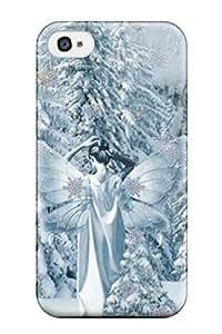 New Style Unique Design Iphone 4/4s Durable Tpu Case Cover Snow White Fairy