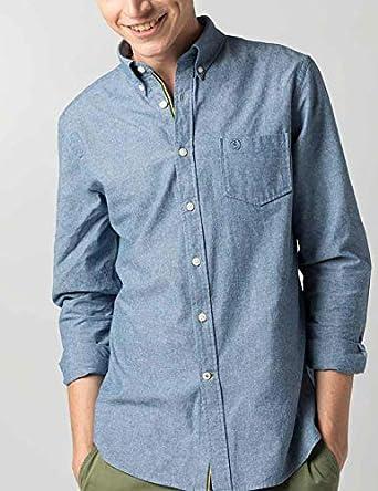 El Ganso 1050S190055 Camisa Casual, Azul (Azul 0055), XXL para Hombre: Amazon.es: Ropa y accesorios
