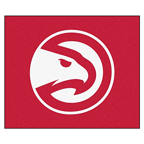 FANMATS 19425 NBA - Atlanta Hawks Tailgater Rug , Team Color, 59.5''x71'' by Fanmats