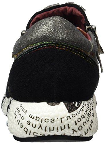 Laura Vita Burton 14, Sneaker Basse Donna nero