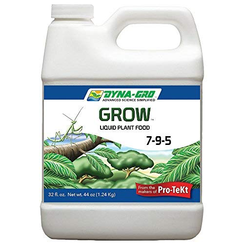 - Dyna-Gro Grow 32 oz. Concentrated Liquid Plant Food