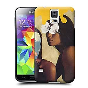 Unique Phone Case The girl creative collage art Two Girls Hard Cover for samsung galaxy s5 cases-buythecase