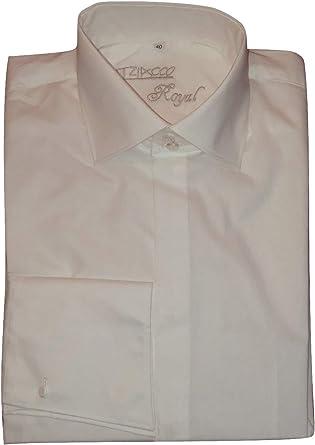 Tziacco - Camisa de Vestir - Manga Larga - para Hombre: Amazon.es: Ropa y accesorios