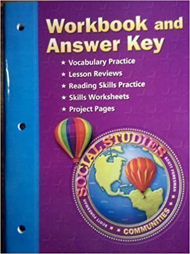 Communities Tn Social Studies Workbook and Answer Key Grade 3 ...