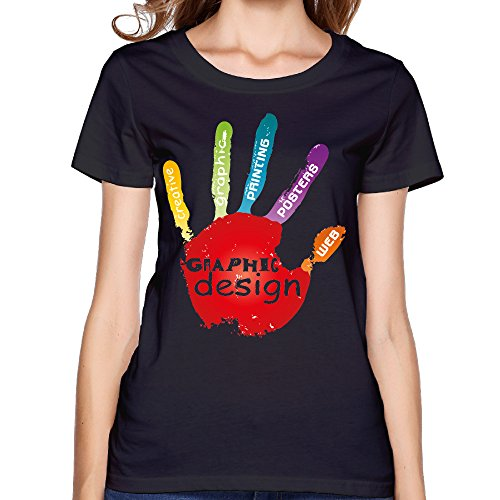 Graphic Painting Posters Palm Women's Shirts