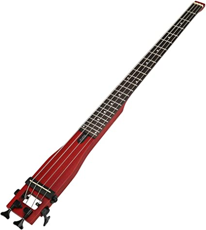 Anygig guitarra eléctrica bajo 24 diapasón 34 pulgadas Longitud ...