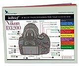 Blue Crane Digital InBrief Laminated Reference Card for Nikon D3200 (zBC544)