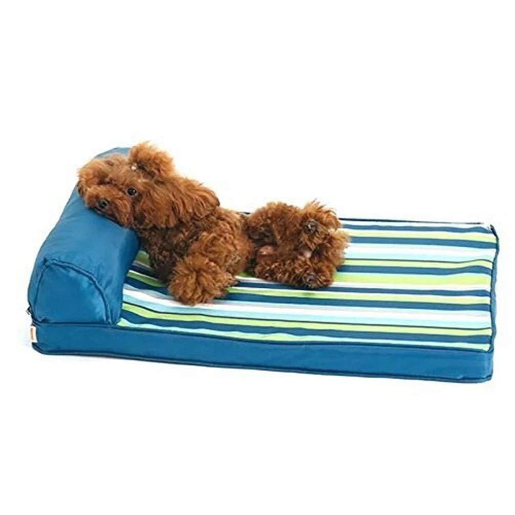 Chunchun Fashion Natural Removable and Washable Kennel Dog Mat Small Medium-Sized Large Dog Dog Bed (Size : S) by Chunchun
