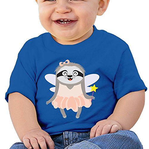 Kkidj Ooii Toddler Short Sleeve T-Shirts Sloth Halloween Costume Baby Girls-Boys