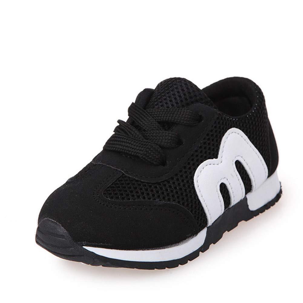 ANDERDM Girls Boys Sport Shoes Antislip Soft Bottom Kids Fashion Sneaker Causual Flat Sneakers