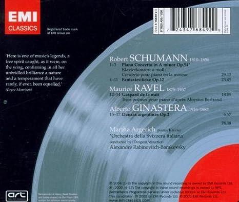 Concierto Para Piano -Marta Argerich -: Martha Argerich ...
