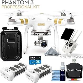 Amazon com: DJI Phantom 3 Professional Quadcopter 4K UHD