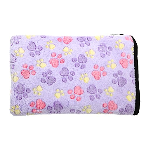 Pet Blanket £¬WinnerEco Warm Dog Cats Bed Mat Cover Fleece Towel Handcrafted Print Dog
