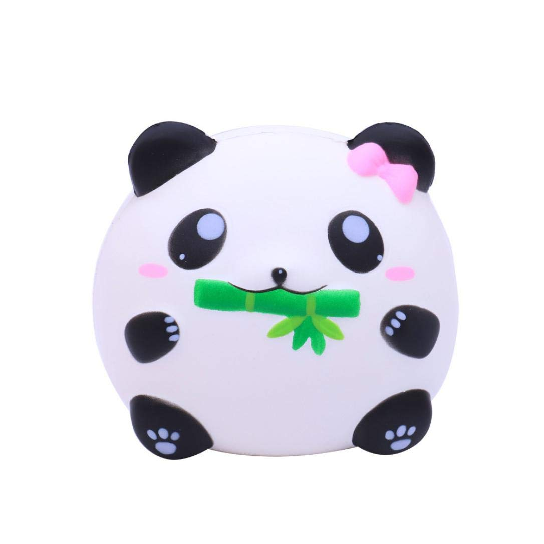 callm Squishies Cake Style Slow Rising Jumbo Squishy Toys Kawaii Cute Scented Squishies Kids Party Squishy Stress Reliever Toy (Panda)