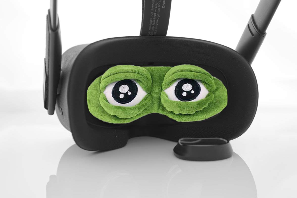 BMTick Mad Frog Lens Cover Protector for The Oculus Quest 2 VR Headset (with Cleaning Cloth) UK/EU