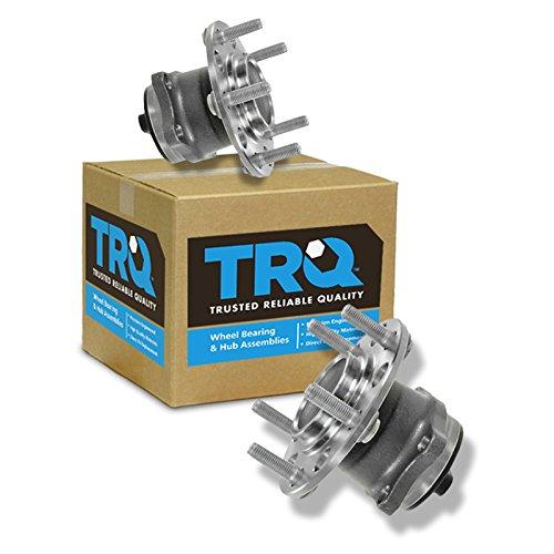 TRQ Rear Wheel Hub & Bearing Left & Right Pair for Avenger Sebring Caliber