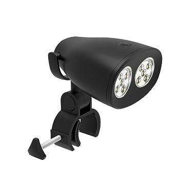 WHX - Luz Impermeable para Barbacoa con 10 Lámparas LED, 200 Lúmenes, Súper Brillante