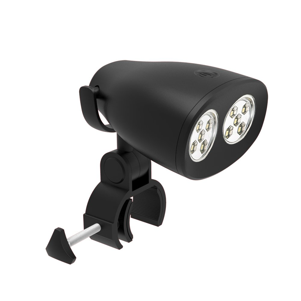 2018 UPGRADED Waterproof Barbecue Grill Light - Durable BBQ Light - 10 Super Bright Led, 200 lm Brightness - IP65 Waterproof Level - Fireproof ABS- Heat Resistant Aluminium Alloy Clip, Adjustable body