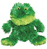 KONG Sitting Frog Toy, Small, Green