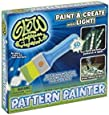 """""""As Seen on TV"""" Glow Crazy Pattern Painter, Glow in the Dark Laser Light Techonology Paint Brush Kit with Glow Paper and Stencils"""