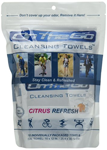 Go Towels Citrus Refresh Wipes product image