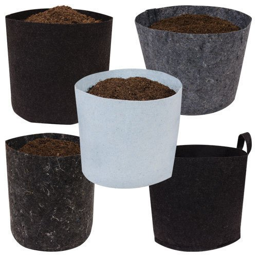 Root Pouch Degradable Pot Bundle of 10, 7 Gallon – 3 – 4 Year