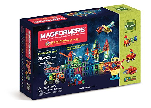 Magformers Deluxe S.T.E.A.M Master Set (293-pieces) by Magformers