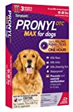Sergeant's Pronyl OTC Max Dog Flea and Tick Sqz-On Flea Drops 45 to 88-Pound, 3 Count, My Pet Supplies