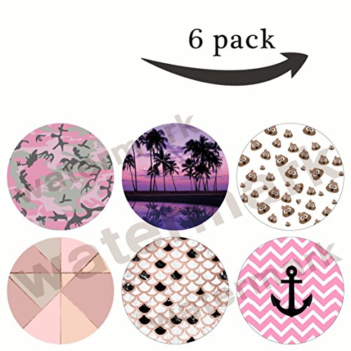 Multi-Function Mounts and Stands Pop Grip Socket for Smartphone Gift(R106)camouflage,chic rose gold black white marble,blush,colorful scene palm trees,cute poop emoji,pink black anchor