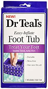 Amazon Com Dr Teal S Inflatable Foot Tub Health