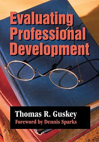 Evaluating Professional Development (1-off Series)