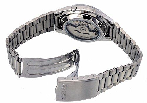 Seiko Men's SNXS73K Seiko 5 Stainless Steel Siver Dial Watch