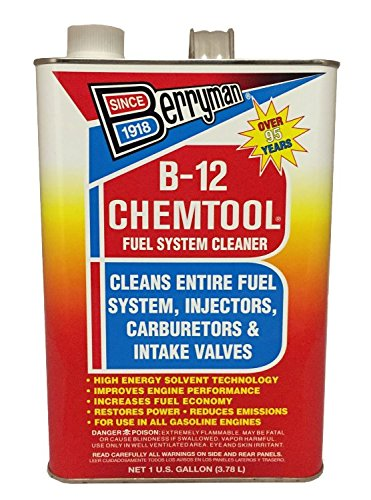 Berryman 0101 B-12 Chemtool Carburetor, Fuel System and Injector Cleaner, 1-Gallon Can by Berryman Products