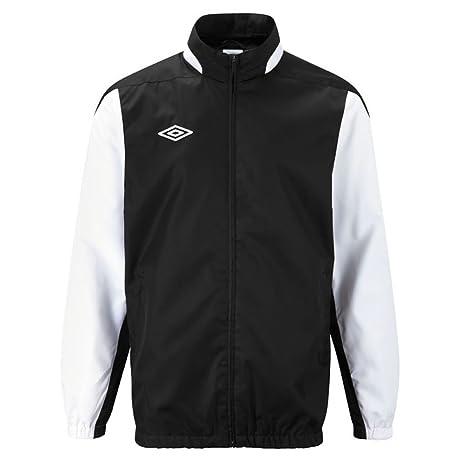 Umbro chaqueta impermeable deportiva impermeable - Negro ...