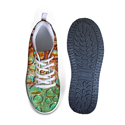 Womens Shape Ups HUGSIDEA Walking Mesh Sneakers 18 Multicolor Colorful qB45x5t