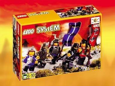 Lego Ninja Knights product no. 4805 by LEGO