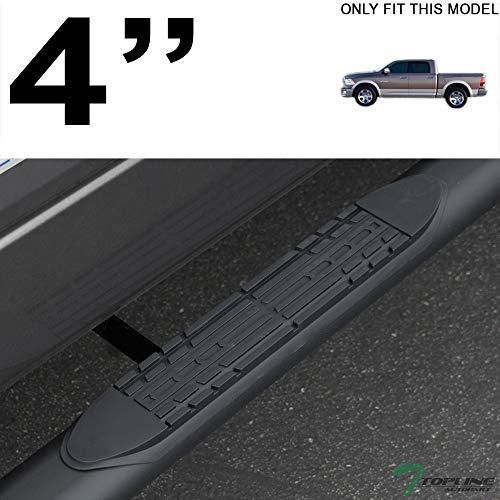 "5/"" Bent Side Step Nerf Bars Running Boards For 09-18 Dodge Ram 1500 Quad//EXT Cab"