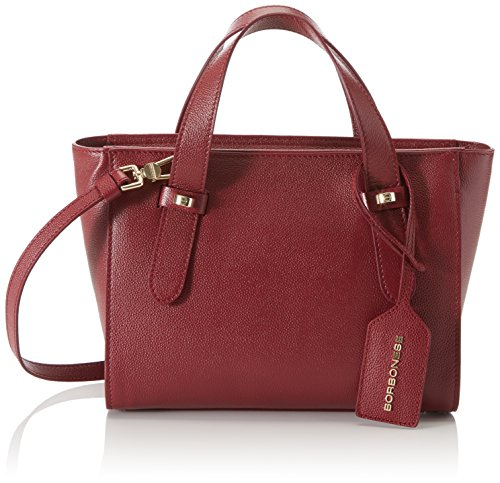 Borbonese Cm H Donna 25x20x11 923679j04 Mano X Borsa A w burgundy L Rosso rnzxYrU