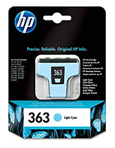 HP C8774EE - Cartucho original, color cian claro: Amazon.es ...
