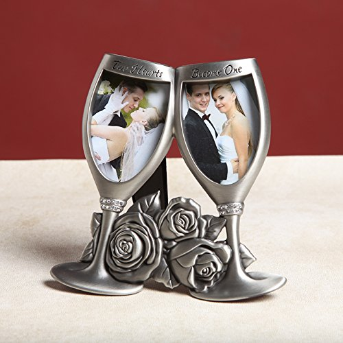 Center Gifts Lovely Decorative A Champagne Toast Photo Frame A Perfect Wedding Gift by Center Gifts
