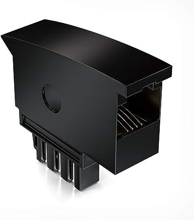 Deleycon Telephone Adapter Plug Tae F Male To Rj11 Elektronik