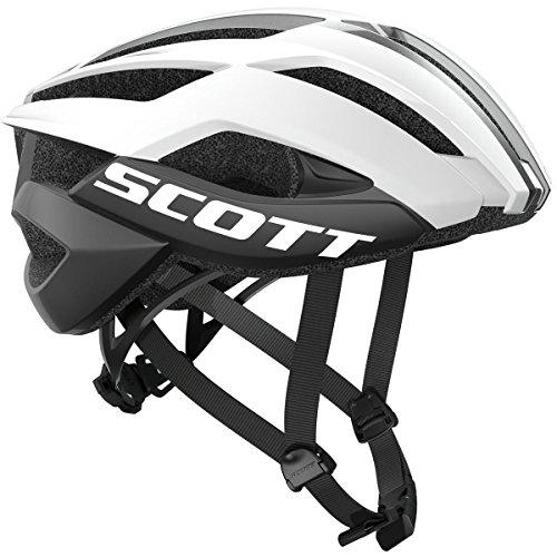 Scott Arx PLUS Bike Helmet - White/Black Small