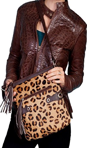 One Shoulder Animal - Scully Women's Cheetah Print Shoulder Bag Animal Prt One Size