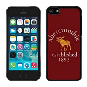 Fahionable Custom Designed iPhone 5C Cover Case With Abercrombie and Fitch 9 Black Phone Case