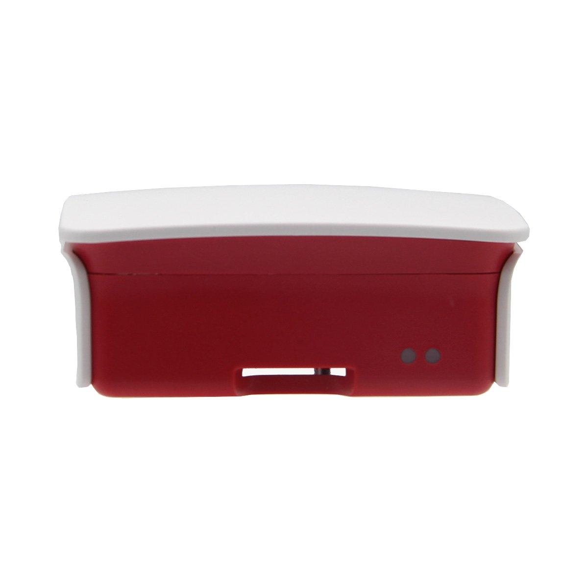 LaDicha Bo/îtier De Protection De Bo/îtier Blanc pour Raspberry Pi 3 Mod/èle B
