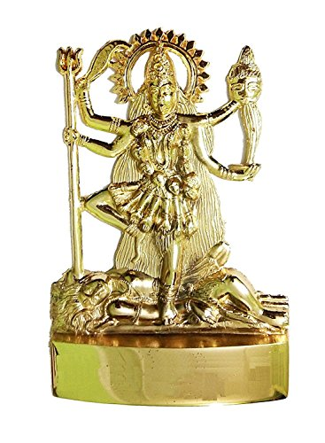 IndianStore4All Metal Kali Idol Statue For Home Decor for sale  Delivered anywhere in USA