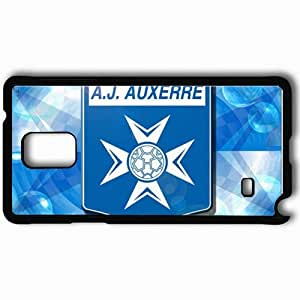 Personalized Samsung Note 4 Cell phone Case/Cover Skin AJA Ligue 1 0809 Poland Auxerre Football Black